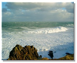 Atlantic Surf off the Isle of Lewis.  Photo taken by Iain